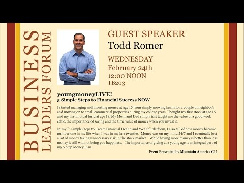 Spring Business Lecture