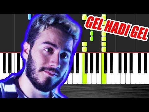 Enes Batur feat. Kaya Giray - GEL HADİ GEL - Piano Tutorial by VN