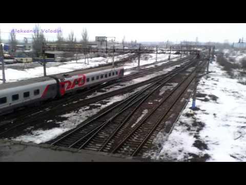 Поезд №061 Нальчик- Москва (около станции Придача)