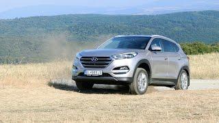 Test: Hyundai Tuscon 2015