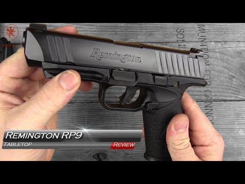 Remington RP9 Tabletop Review and Field Strip