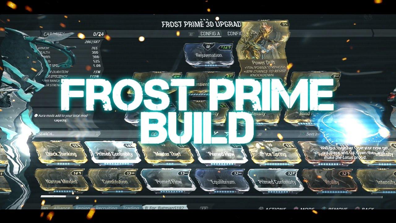 Frost Prime Globe Build