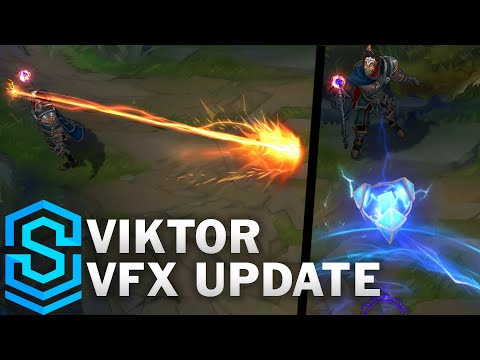 Viktor Visual Effect Update Comparison - All Skins | League Of Legends