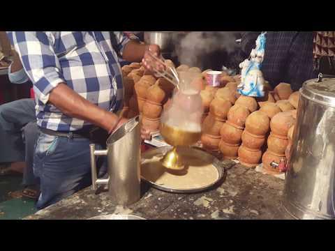 तंदूरी चाय लखनऊ में Winter Special Tandoori Chai Recipe