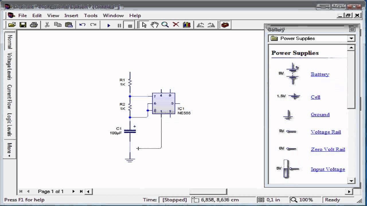 Circuito generador de pulsos 555 armado como estable youtube - Generador de corriente ...