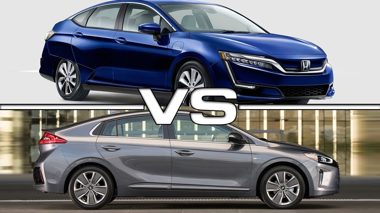 2017 honda clarity electric vs 2017 hyundai ioniq youtube for Honda vs hyundai