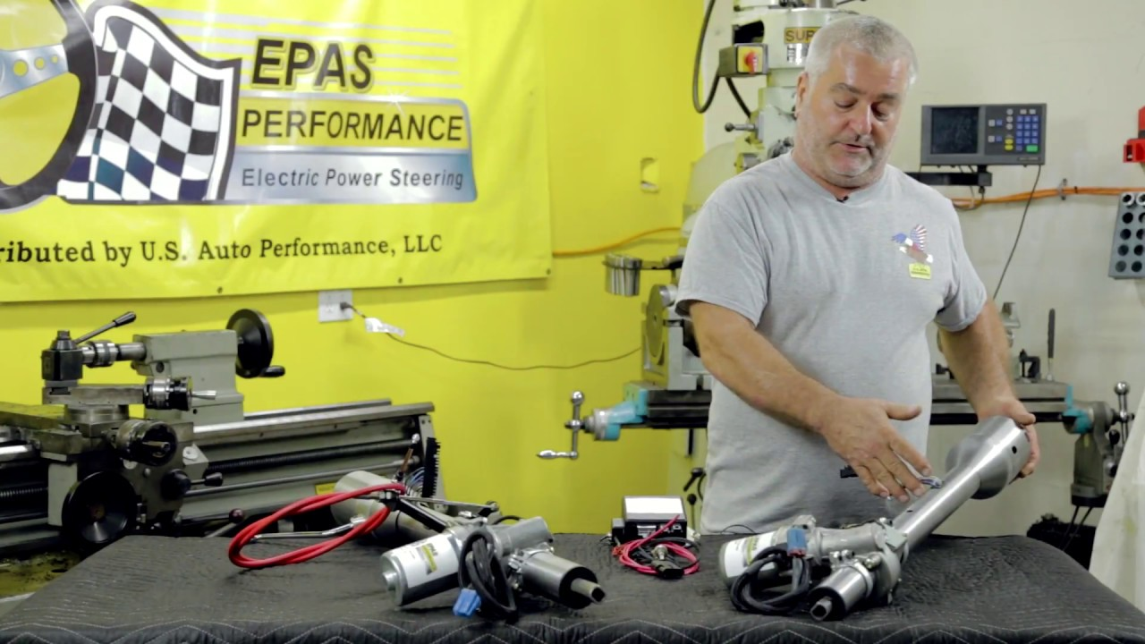 Ford® is built for america. ELECTRIC POWER STEERING CONVERSION WITH IDIDIT TRUCK