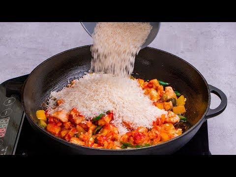un-dîner-à-base-de-riz-avec-une-nouvelle-recette-savoureuse-et-délicieuse.|-cookrate---france