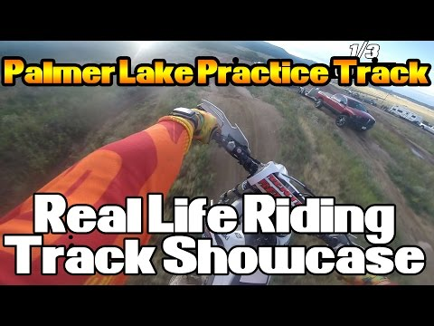 Real Life Riding | Palmer Lake Track Showcase | 2012 Kawasaki KX450F