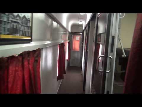 ROYAL FIRST CLASS AC (RAJDHANI) Coach Interior, Indian Railways