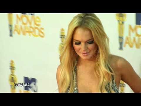 Lindsay Lohan at the 2010 MTV Movie Awards (1)