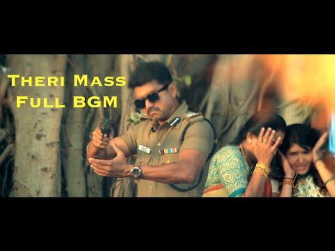 Theri Mass Full BGM   Vijay, Samantha   Atlee   G. V. Prakash