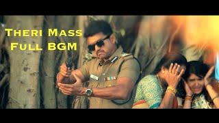 Theri Mass Full BGM | Vijay, Samantha | Atlee | G. V. Prakash