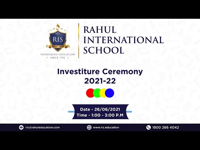 Rahul International School Organize Event on