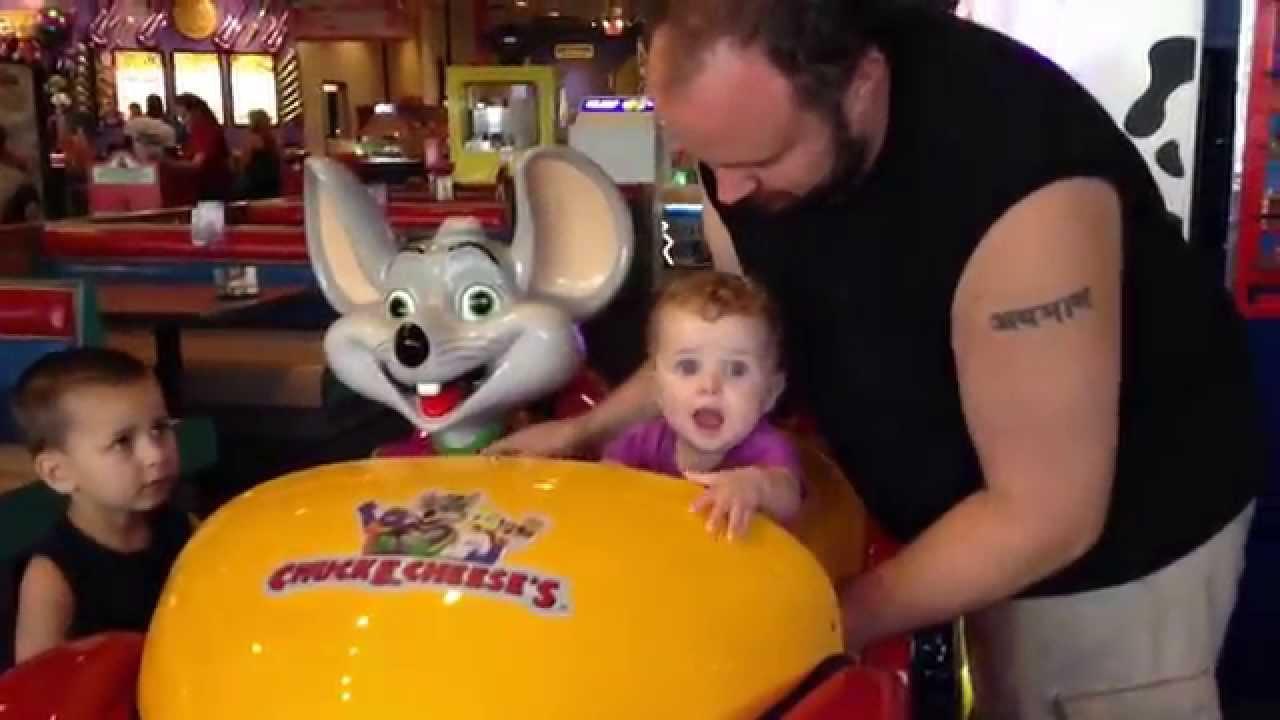 chuck e cheese where a kid can be a kid