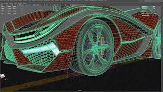 파라곤 X 3d 모델링 공유(maya, fbx, 텍스쳐…
