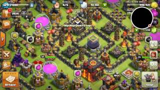 How to use golems to create a proper funnel. Clash of clans strategy.