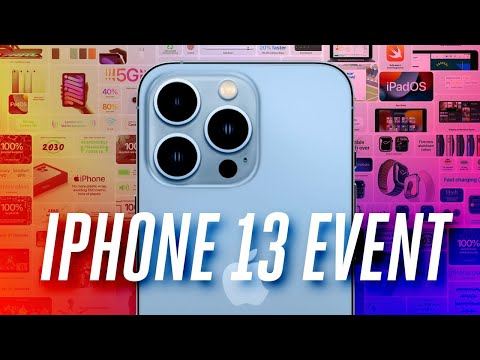 iPhone 13 event in 15 minutes