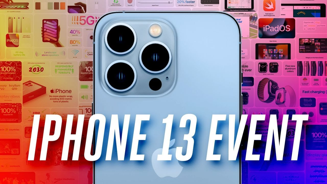 iPhone 13 Pro and Pro Max announced with high refresh rate 120Hz ...