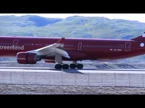 Kangerlussuaq landing and take-off