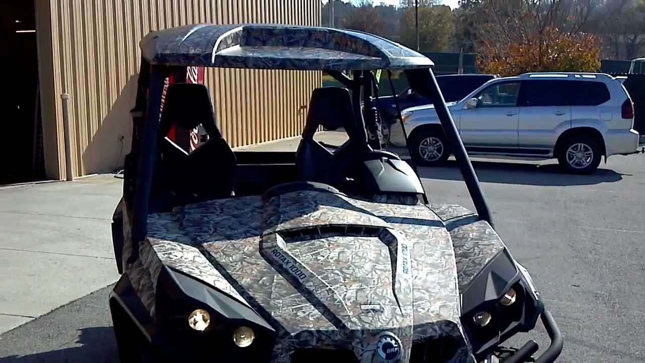 2013 CAN AM COMMANDER 1000 XT CAMO WITH POWER STEERING @ ALCOA GOOD TIMES
