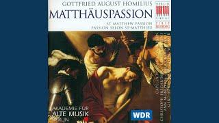 """St. Matthew Passion: Recitative """"Und es waren viel Weiber da"""""""