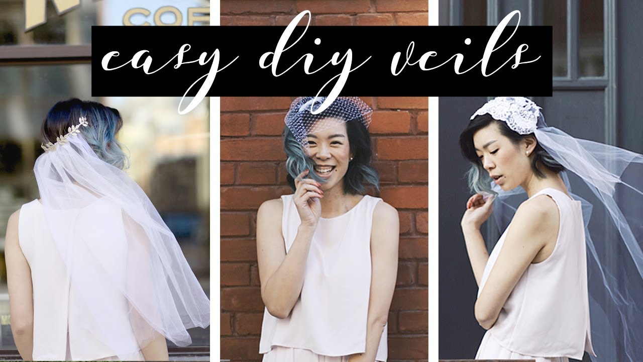 Diy Wedding Veils Withwendy