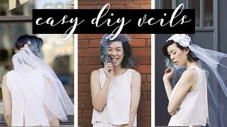 DIY Ideas for Wedding Veils   WITHWENDY