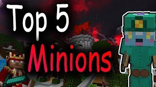 Hypixel Skyblock - Top 5 Minions