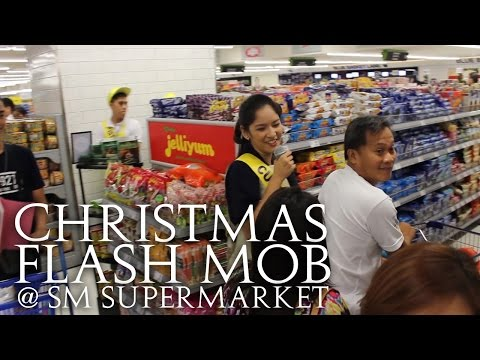 Christmas Carol Flash Mob at SM Supermarket