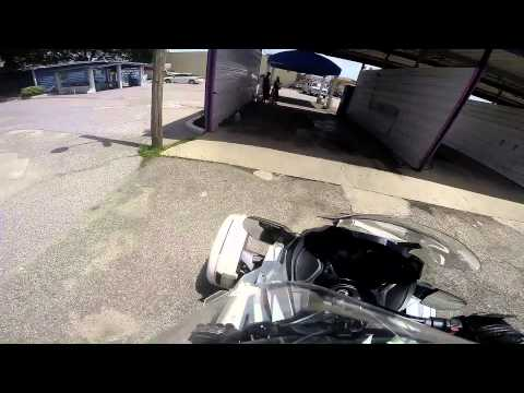 Can Am Spyder ST-Car Wash and Hermann Park (1080p)