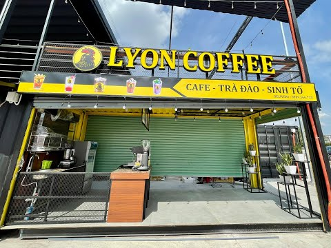 Ưu Điểm Mô Hình Quán Cafe Bằng Container | Lyon Coffee
