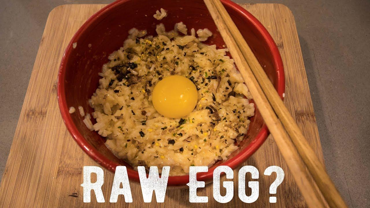 Raw Eggs And Rice Is Amazing Tamago Kake Gohan Youtube