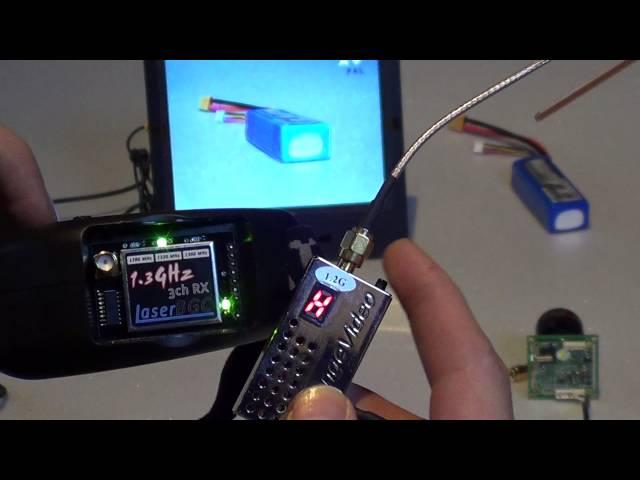1.3GHz 3 Channel Receiver for Fatshark Dominator by LaserBGC