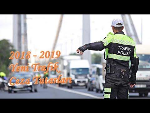 2019'un Yeni Trafik Ceza Tutarları