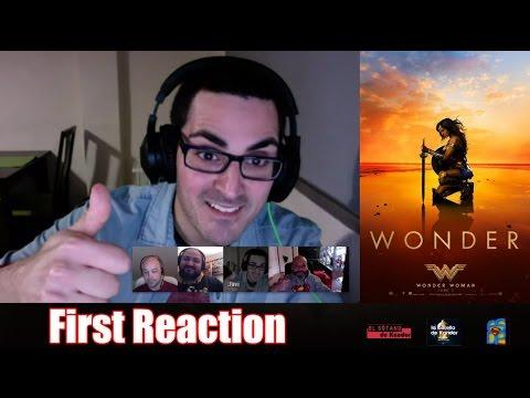 WONDER WOMAN TRAILER #3 FIRST REACTION