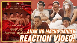 ANAK NG MACHO DANCER REACTION VIDEO! (LAUGHTRIP TO!) | BECKY NIGHTS