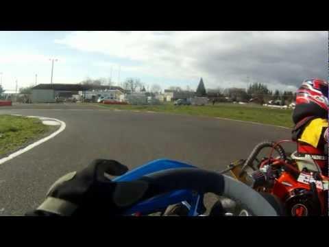 Stanley's Kid Kart Crash Compilation February 17, 2013