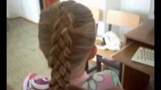 Модные косички(Несколько способов плетения кос и причесок из кос., 2008-06-18T05:18:19.000Z)