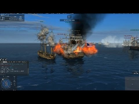 Trafalgar Fight 8th of August 2015 1st battle Boarding and Explosions
