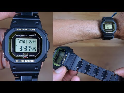 CASIO G-SHOCK MULTIBAND GW-B5600BC-1 - UNBOXING