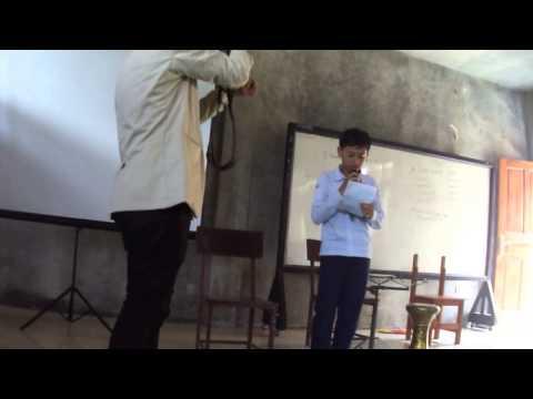Puisi Irfan Ta'aruf Al-masthuriah 2013