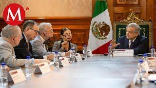 AMLO se reúne con Congresistas de EU por T-MEC