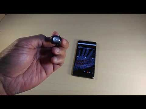QCY Q26 Mini Invisible Bluetooth Earpiece  ( unboxing /sound demo )