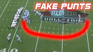 Download NFL Best Fake Punts Ever (Compilation) Mp3 and Videos