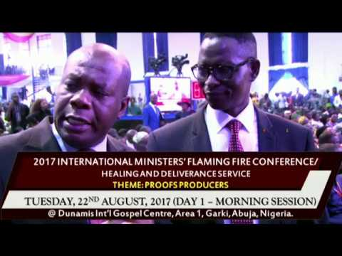 2017 INTERNATIONAL MINISTERS' FLAMING FIRE CONFERENCE/HEALING AND DELIVERANCE SERVICE 22-08-2017 (DA