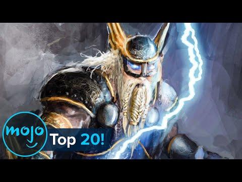 Top 20 Gods and Goddesses of Norse Mythology