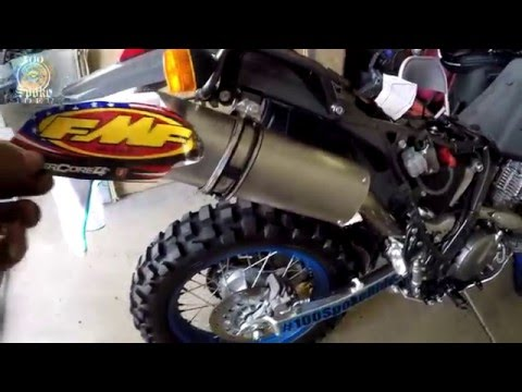 DR650 Update FMF Exhaust Procycle Breathe Easy Kit part 1