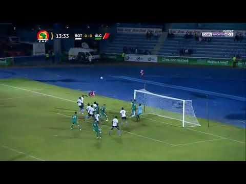 BOTSWANA VS ALGERIA 0 -1