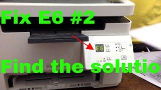 fix printer hp laser jet pro M26a error E6 #2